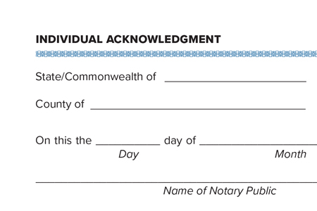 Notary Essentials: How To Complete An Acknowledgment