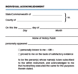 Notary Essentials: The Difference Between Acknowledgments