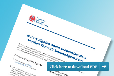 Notary Signing Agent Online Certification
