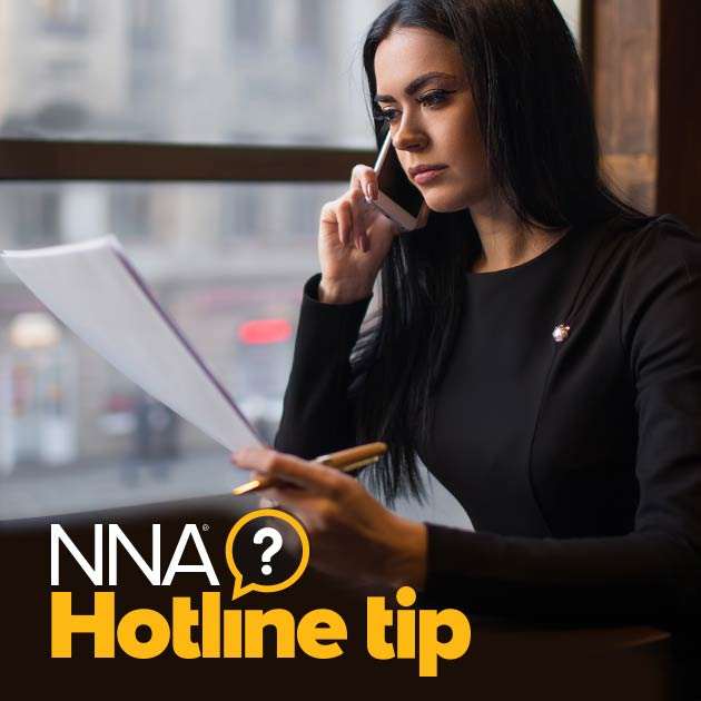 NNA Hotline Tips Logo