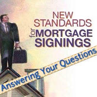 Standards for Mortgage Signings