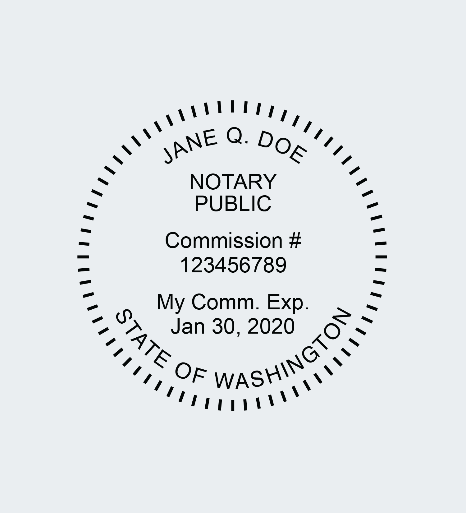 washington notary seals nna