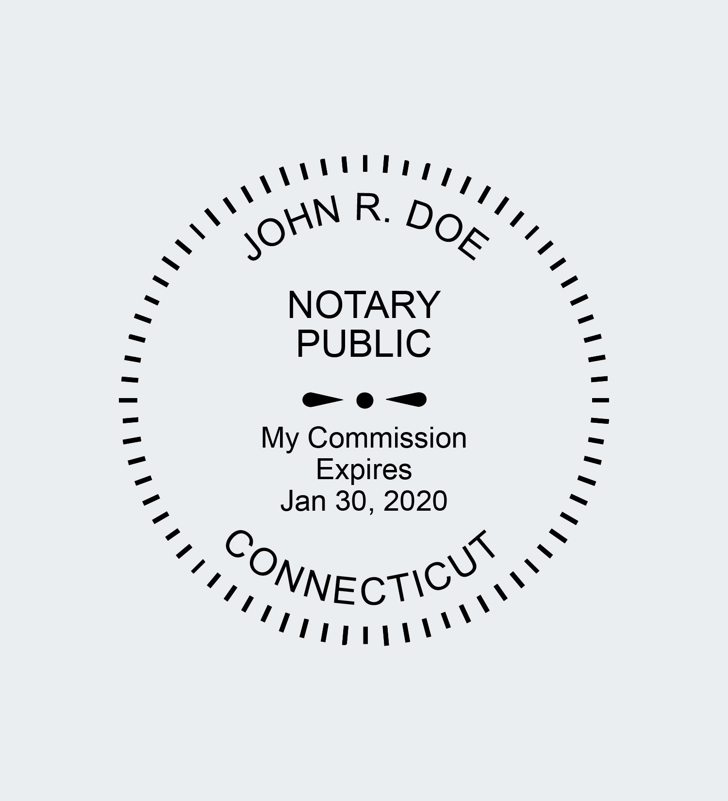Connecticut Notary Seals Nna Howto:texas