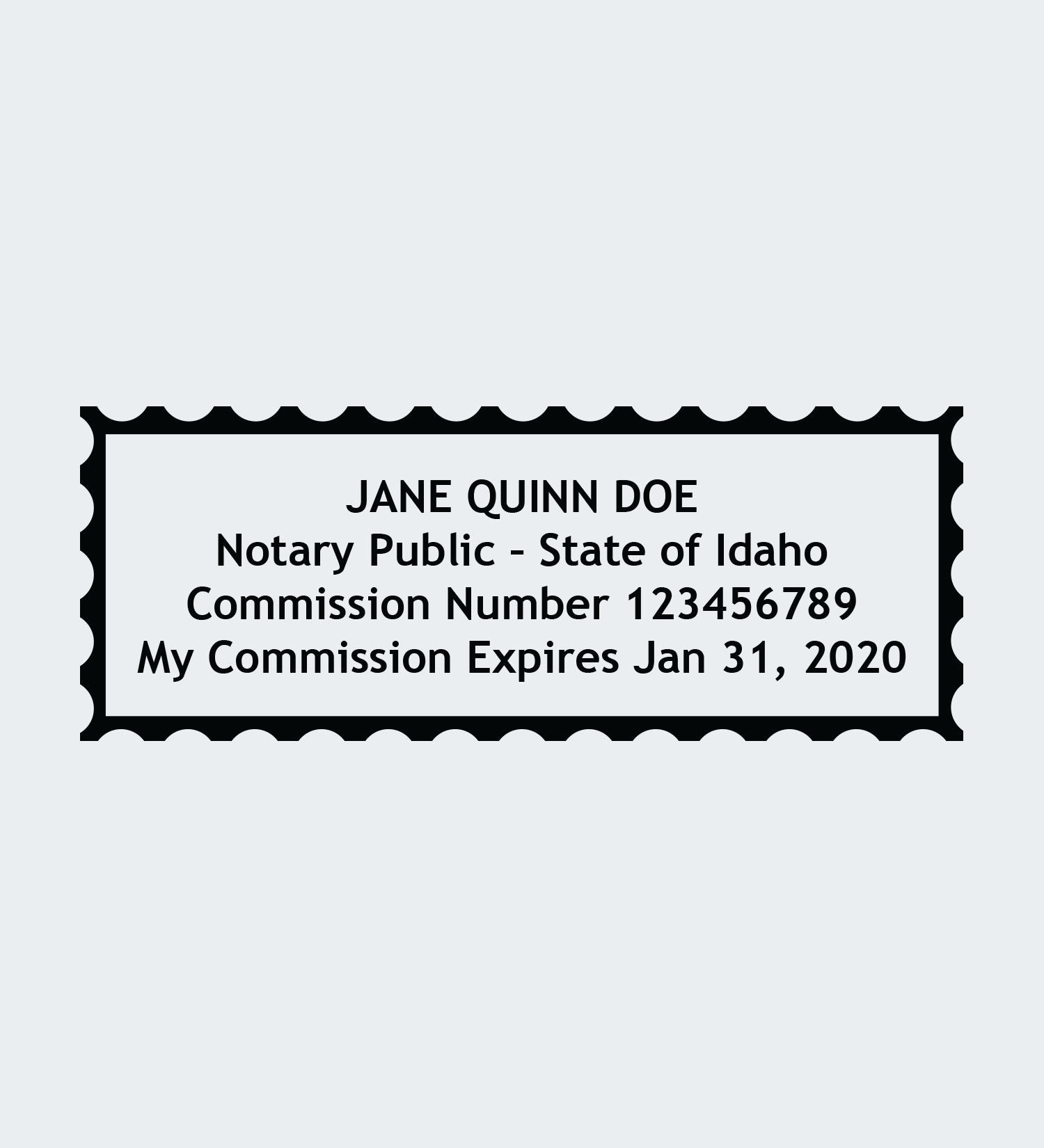 00000-Notary-Seal-Stamp-Impression-Idaho-4line.png