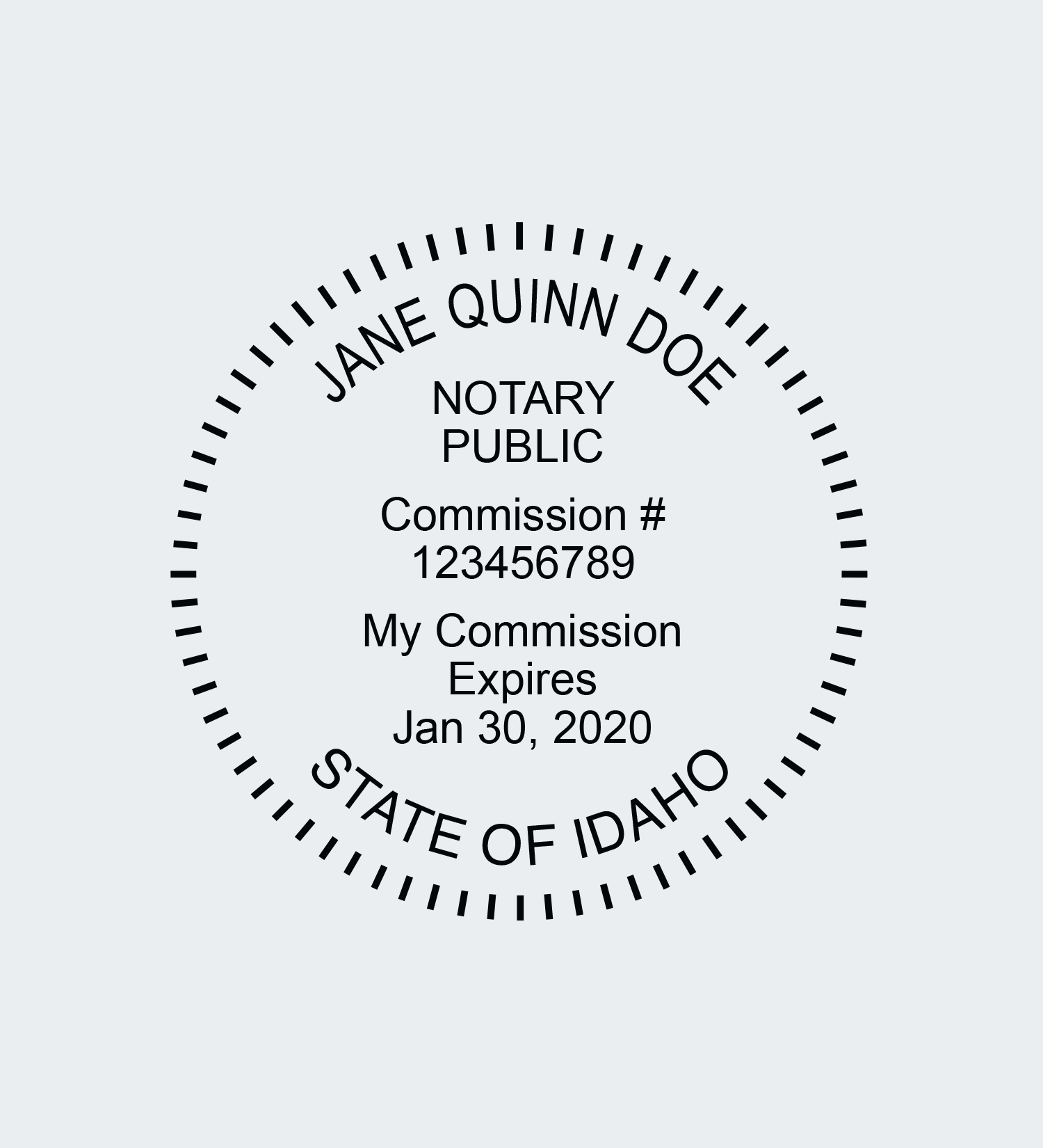 00000-Notary-Seal-Stamp-Impression-Idaho-round-4line.png