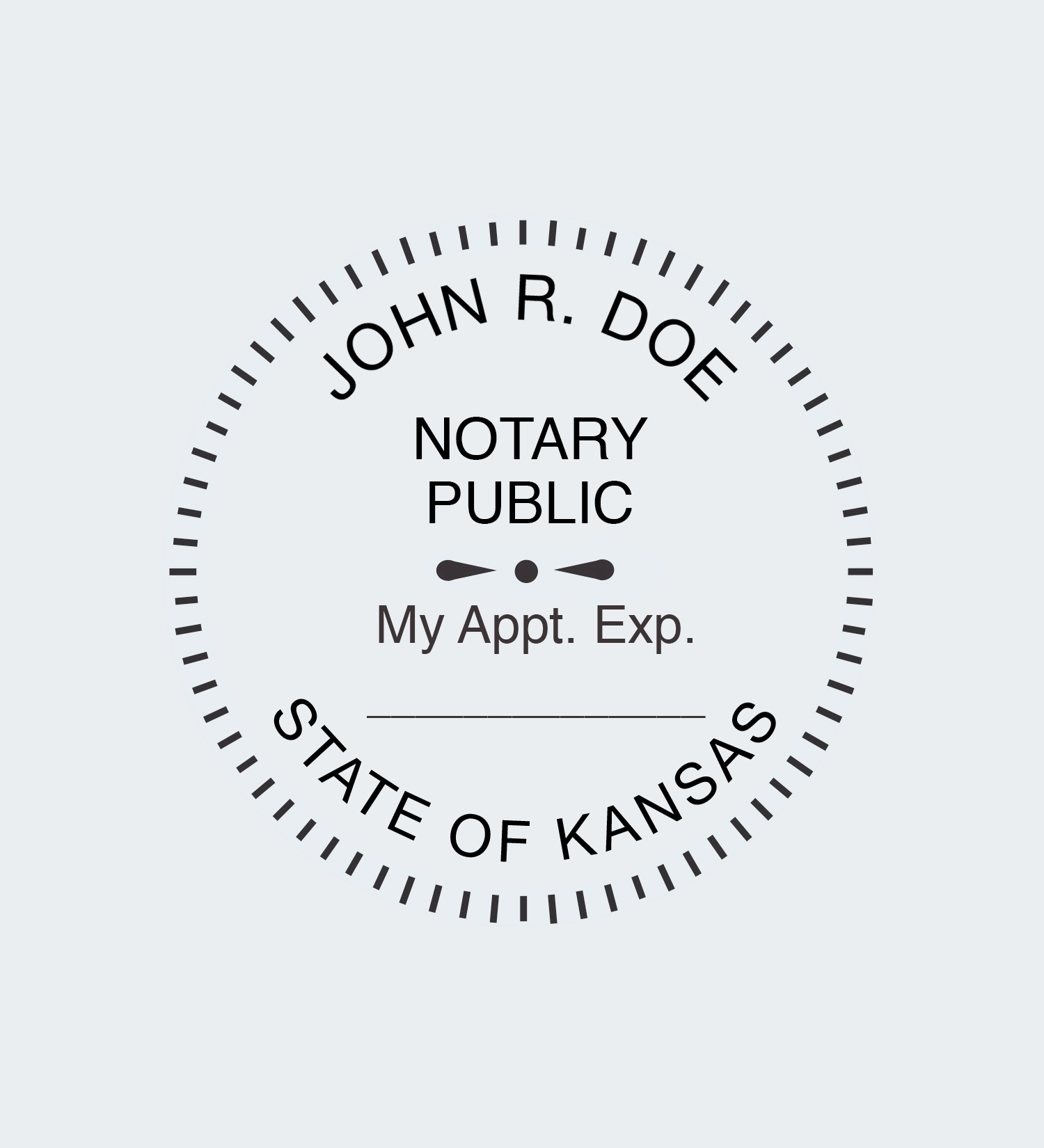 Kansas Notary Seals Nna
