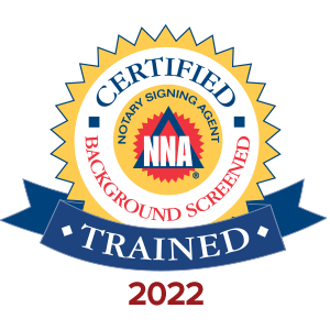 Trained Notary Signing Agent