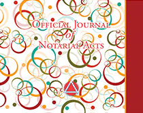 Hardcover Journal - Retro Circles