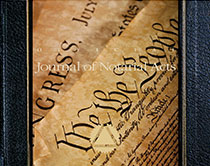 Hardcover Journal - Constitution