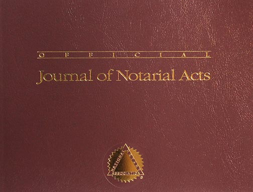 America's Top-Selling Notary Journal