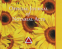 Hardcover Journal - Sunflower