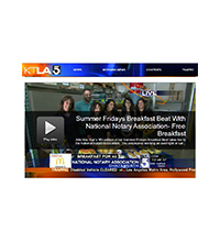 Summer Fridays Breakfast Beat With National Notary Association