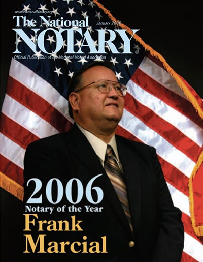 The National Notary - January 2006