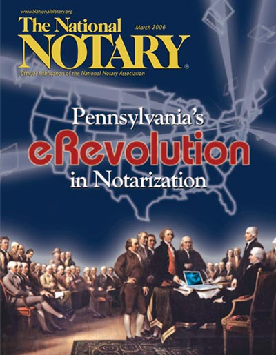 The National Notary - March 2006