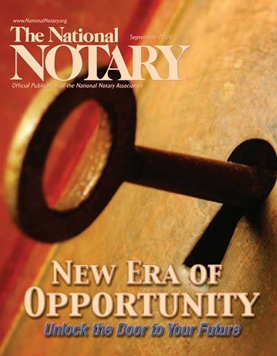 The National Notary - September 2006