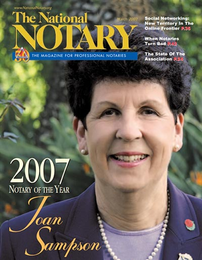 The National Notary - March 2007