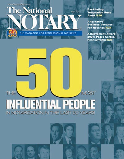 The National Notary - May 2007