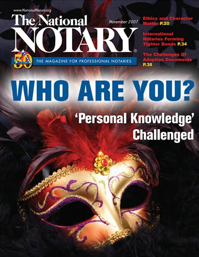 The National Notary - November 2007