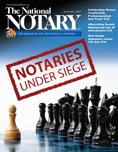 The National Notary - September 2007
