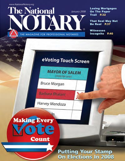 The National Notary - January 2008