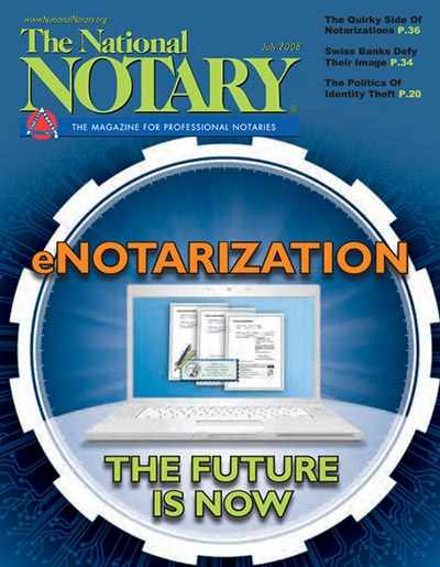 The National Notary - July 2008