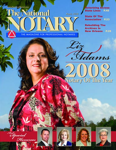 The National Notary - March 2008