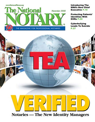 The National Notary - November 2008