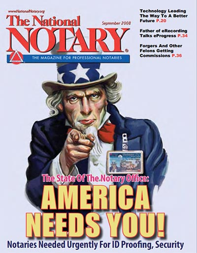The National Notary - September 2008
