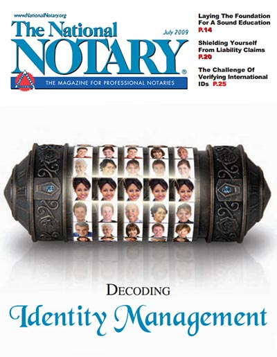 The National Notary - July 2009