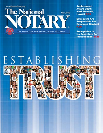 The National Notary - May 2009