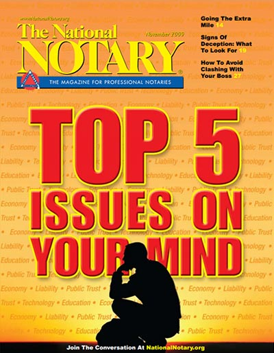 The National Notary - November 2009