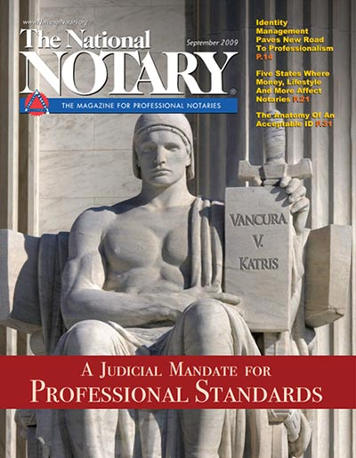 The National Notary - September 2009