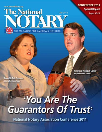 The National Notary - July 2011