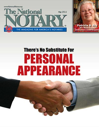 The National Notary - May 2011