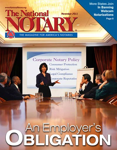 The National Notary - November 2011