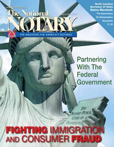 The National Notary - September 2011