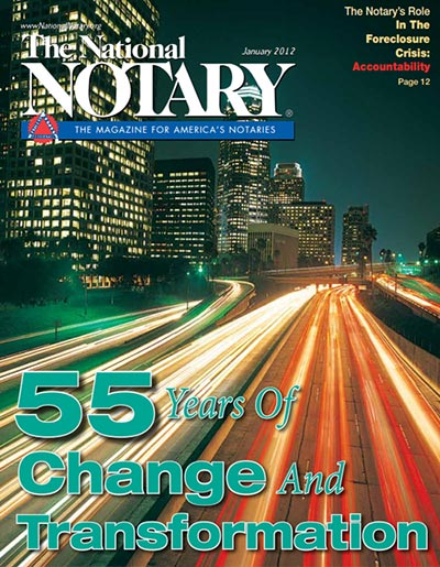 The National Notary - January 2012