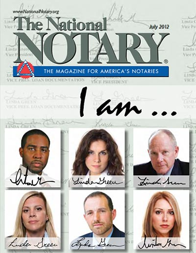 The National Notary - July 2012