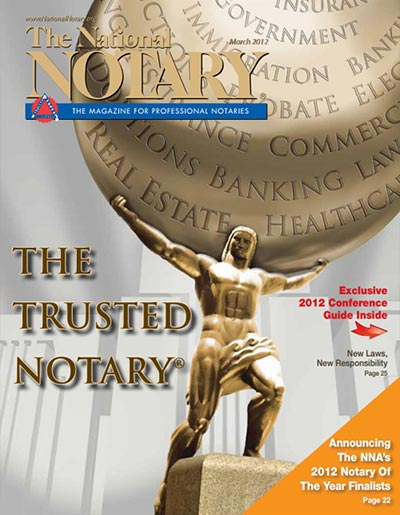 The National Notary - March 2012