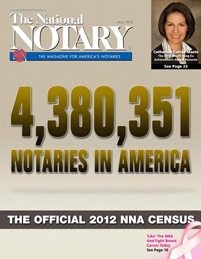 The National Notary - May 2012