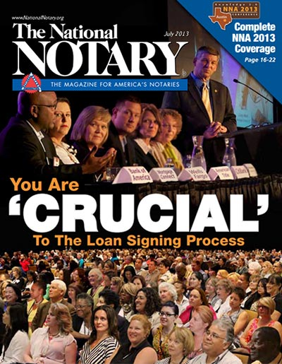 The National Notary - July 2013