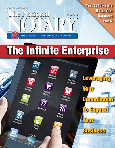 The National Notary - March 2013