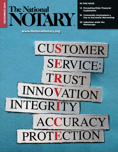 The National Notary - December 2014