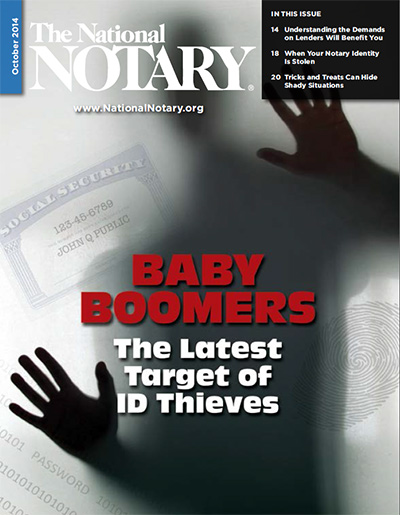 The National Notary - October 2014