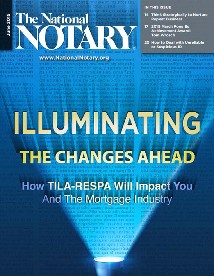 The National Notary - June 2015