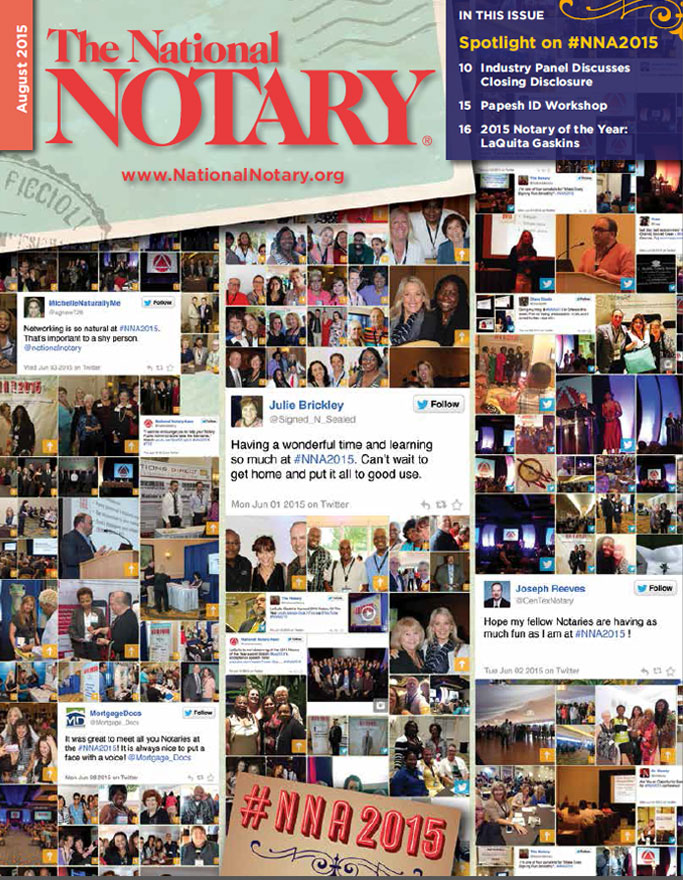 The National Notary - August 2015