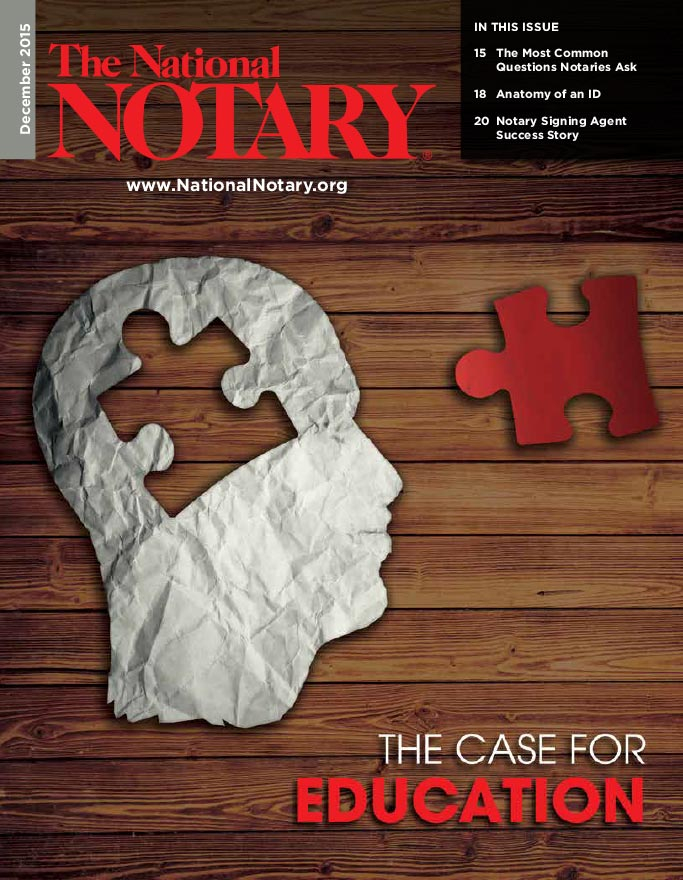 The National Notary - December 2015