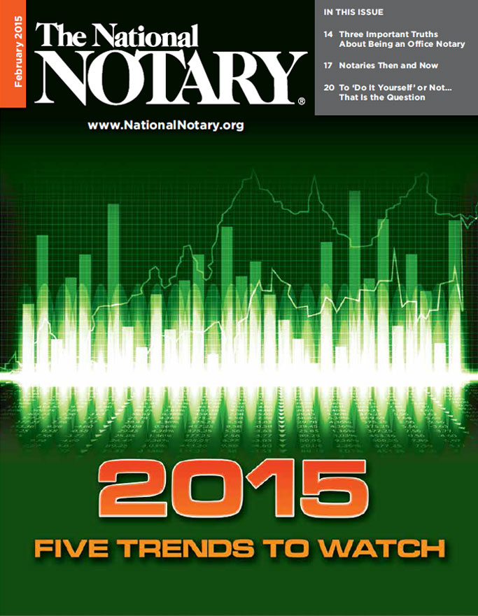 The National Notary - February 2015