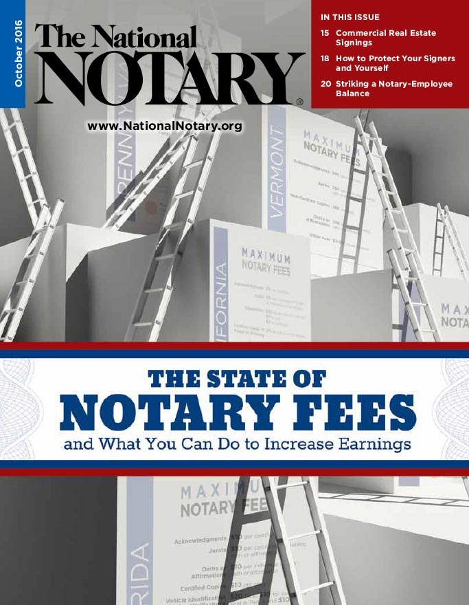 The National Notary - October 2016