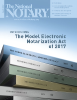 The National Notary - April 2017